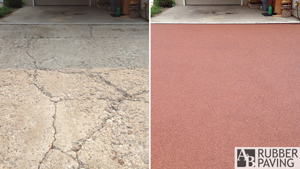 Driveway - Brown - Before/After