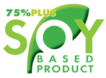 Our Gel is over 75% Soy Based