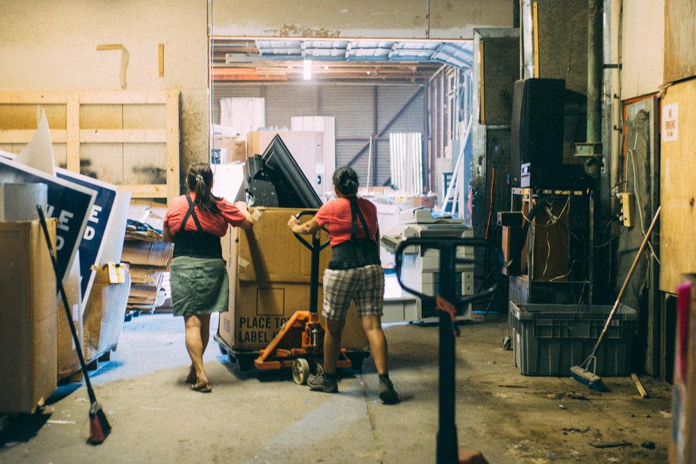 E Waste Recycle Revolution