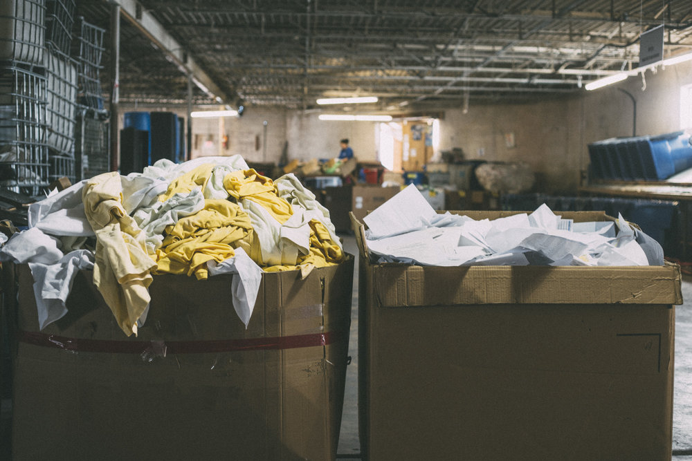 The Time We Recycled 10,000 Uniforms