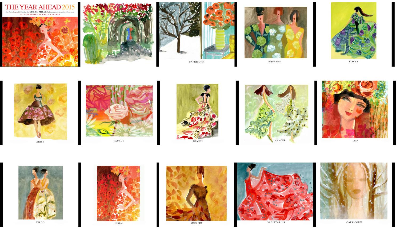 Susan Miller Astrological calendar — Gayle Kabaker