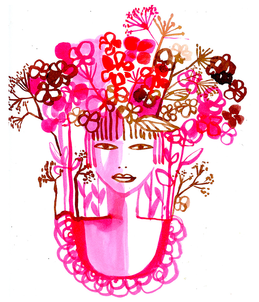 Inspired By A Song Flower By Moby Gayle Kabaker