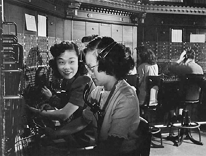 The Lady From Shanghai -  On The Lam - Chinese Telephone Exchange