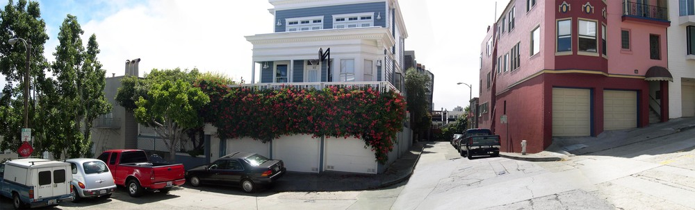 The House On Telegraph Hill - Crash Site