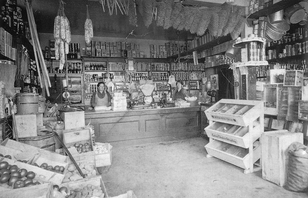 The House  On Telegraph Hill -  Corner Store