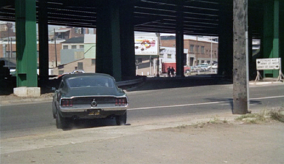 Bullitt -  Car Wash (the car chase starts here)