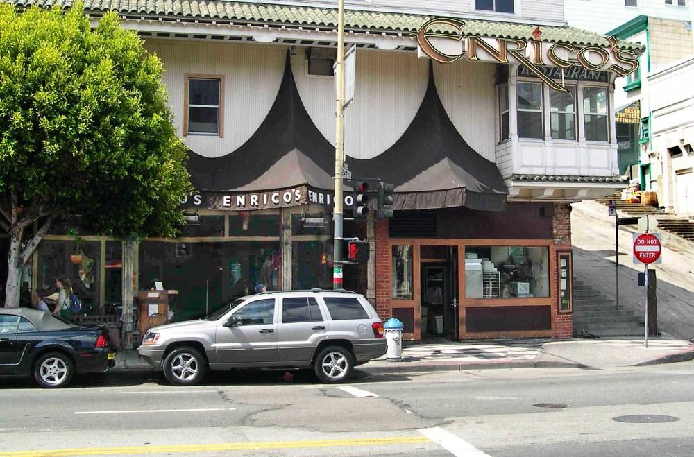 Bullitt -  Enrico's Restaurant