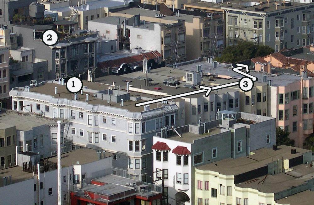 Vertigo - Rooftop Chase