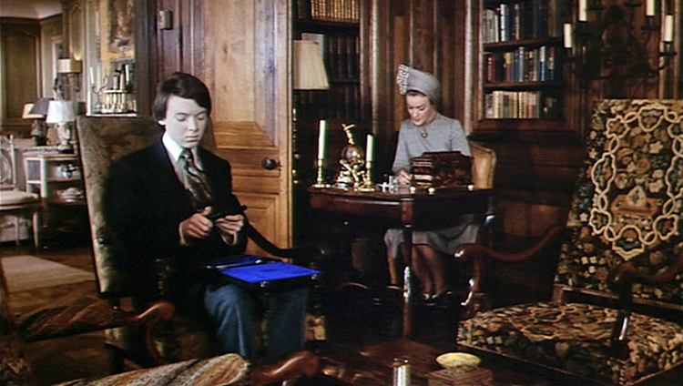 Ruth Gordon and Bud Cort in Harold and Maude directed by Hal Ashby, 1971