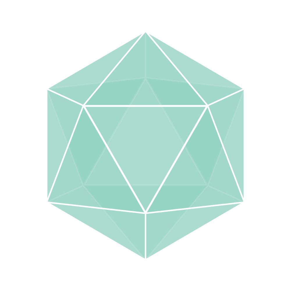 Jake Birkes Graphic Design d20 Icon D&D