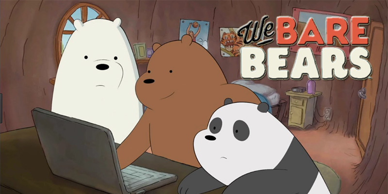 We Bare Bears - Dustin was invited to play 'That Don LaFontaine Trailer Guy' for Daniel Chong's show on Cartoon Network.  It's a comedy about three bear siblings who try to adjust to living in a human society