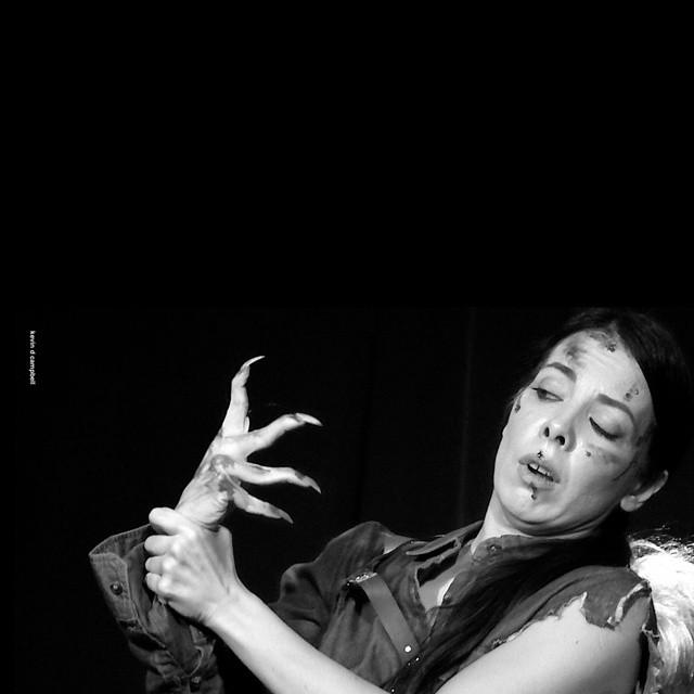 Diamondback Annie - Evil hand - by Kevin Campbell.jpg