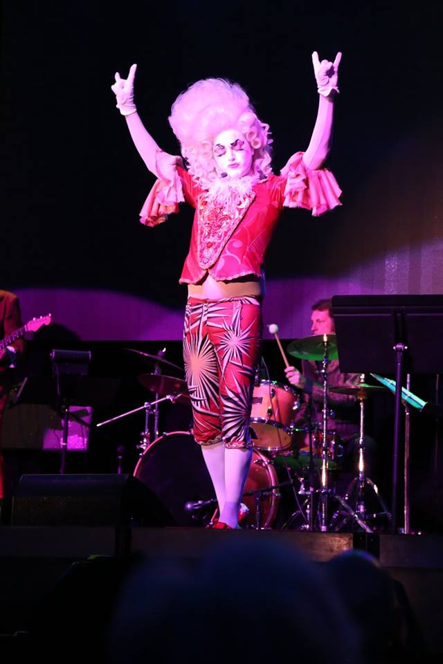 Poppycock rocking out (photo courtesy of Clearwater Casino)