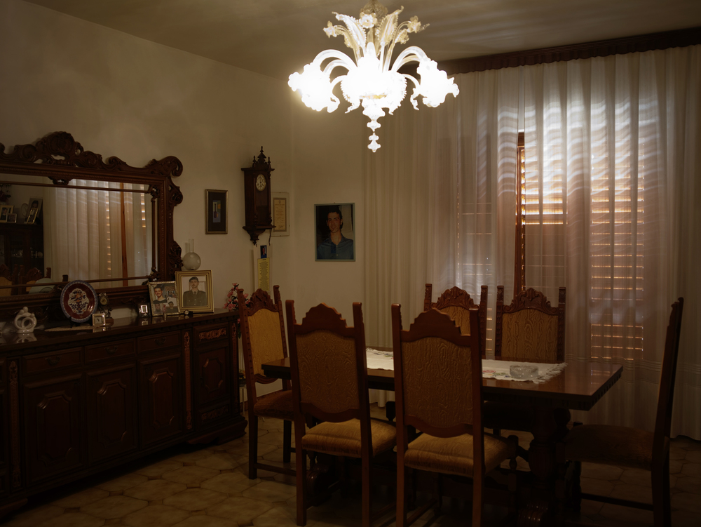 Esszimmer der Familie Fava - Palizzi Marina, [Provinz] Reggio Calabria, 2011