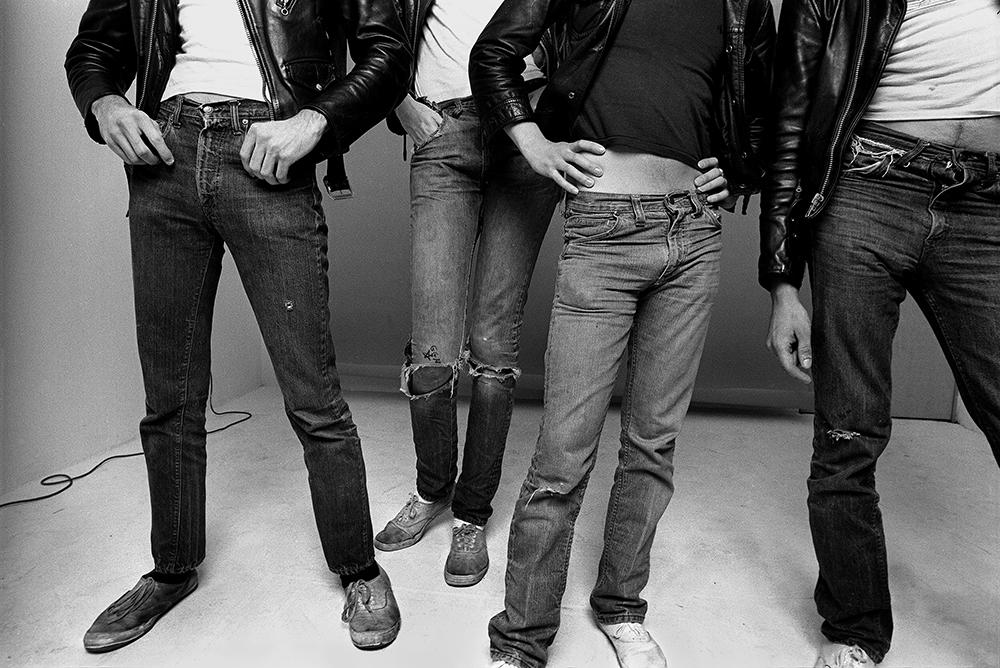 The Ramones, 1977 (c) Norman Seeff