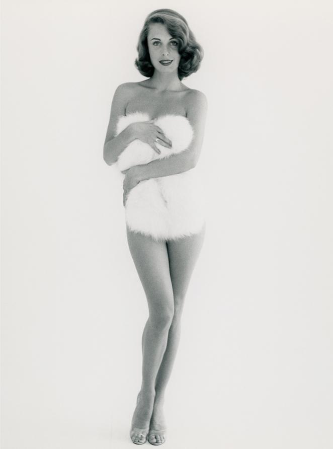 Edition Gowland 4 Modell: Rosemarie Bowe, 1955 Print auf Hahnemühle Baryta, 30x24 cm, 2016 nummeriert und signiert von den Nachfahren und gestempelt von der Peter Gowland LLC Auflage 10+2AP