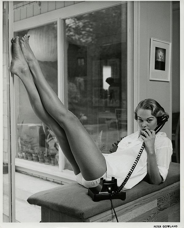 Edition Gowland 10 Modell: Jo Anne Aehle, 1954 Print auf Hahnemühle Baryta, 30x24 cm, 2016 nummeriert und signiert von den Nachfahren und gestempelt von der Peter Gowland LLC Auflage 10+2AP