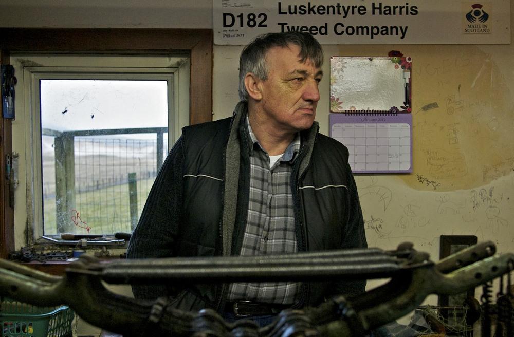 Donald John MacKay MBE, Master Weaver of Luskentyre, EP-3 Lumix 20mm f1.7