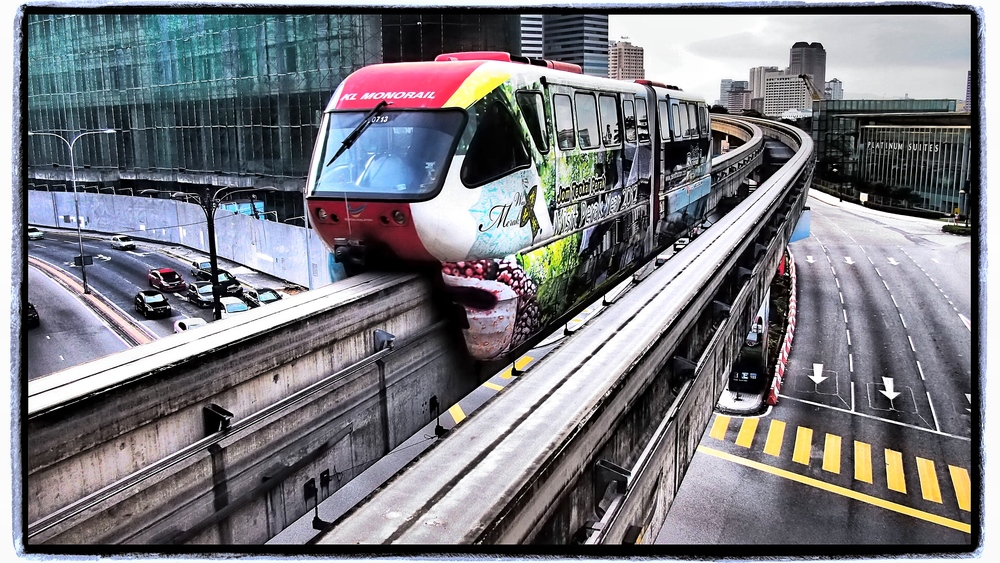 KL's Light Rail Transit system Bukit Nanas EP3/14mm