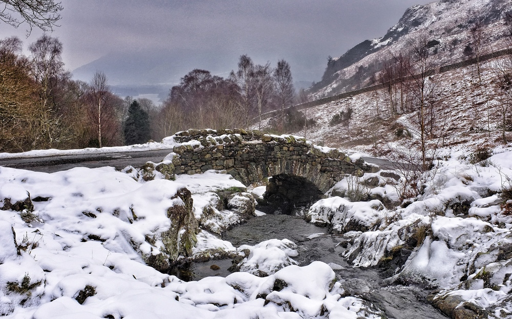 Ashness Bridge 25Jan Fuji X-100
