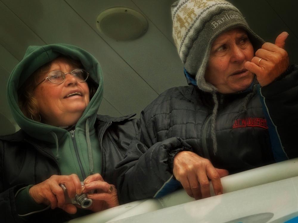   Glacier Tourists - Lago Argentino, Patagonia