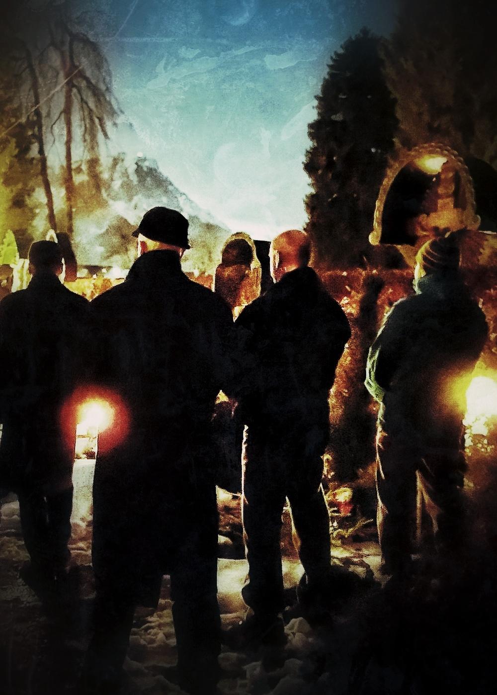 Garmisch Cemetery Christmas Eve 2012