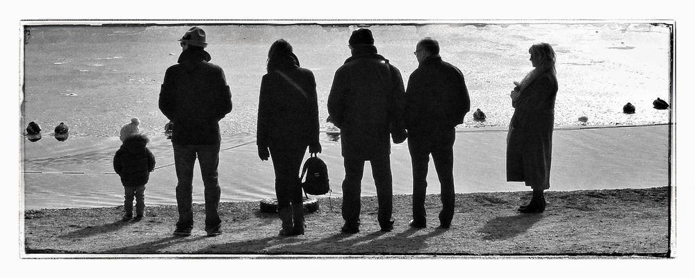 Duck Watching, Titisee, Easter Monday '13 Leica D-Lux 4