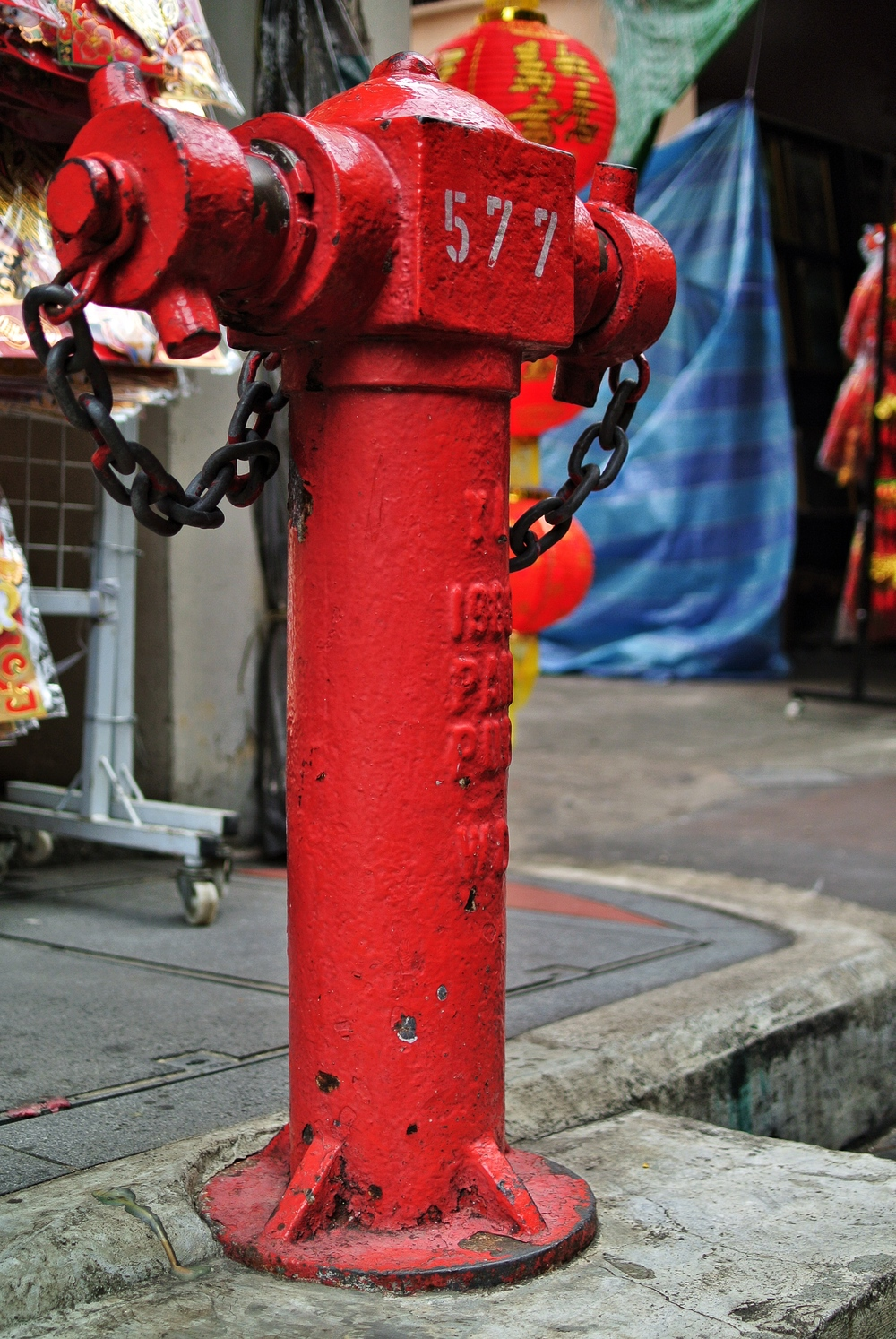 Trengganu Street Hydrant