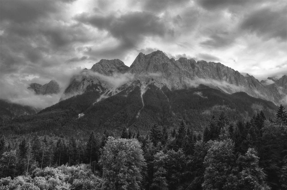 Waxenstein Range, Grainau Bayern