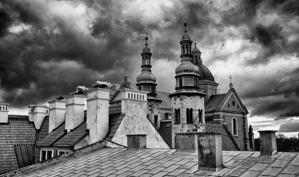 Krakow Rooftops, Poland