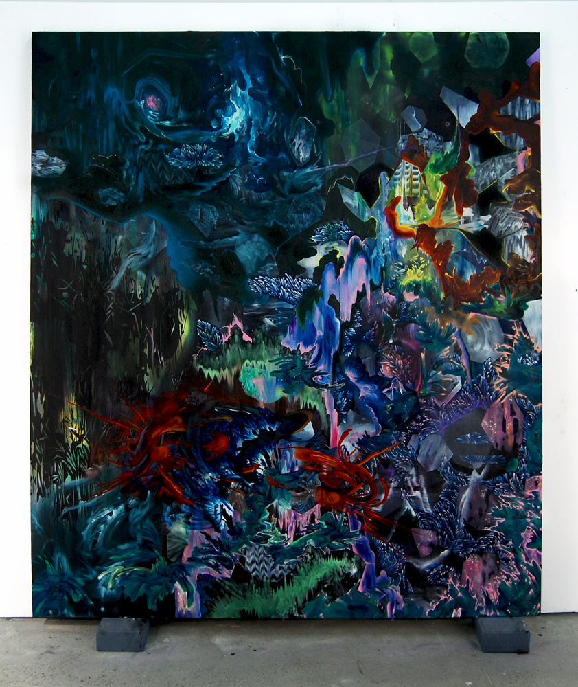 Untitled  (2009)  Oil on canvas.   66x78 inches