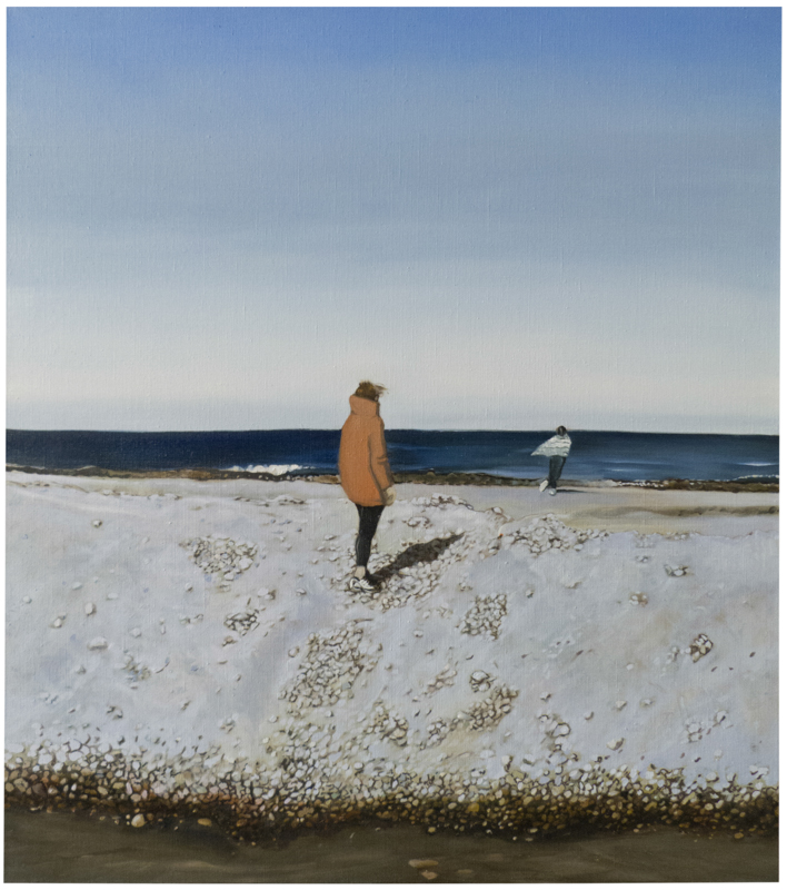 Tryn (Cape Cod) , 2015. Oil on linen. 36x32in