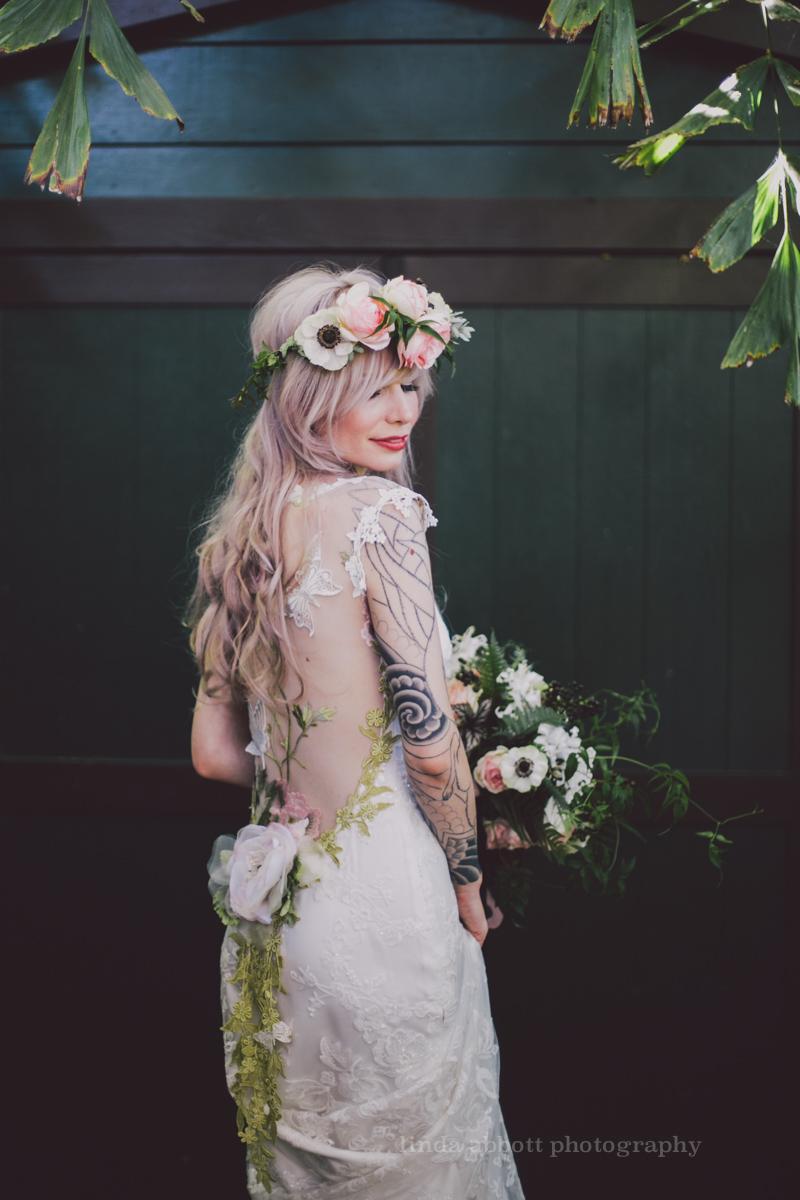 elle and will\'s santa barbara rock n roll, fairy woodland wedding ...
