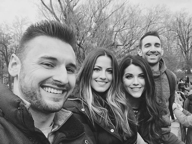 Spent the last day of our trip in #CentralPark with some #ATL friends. Thankful to God for these friends. 🖤