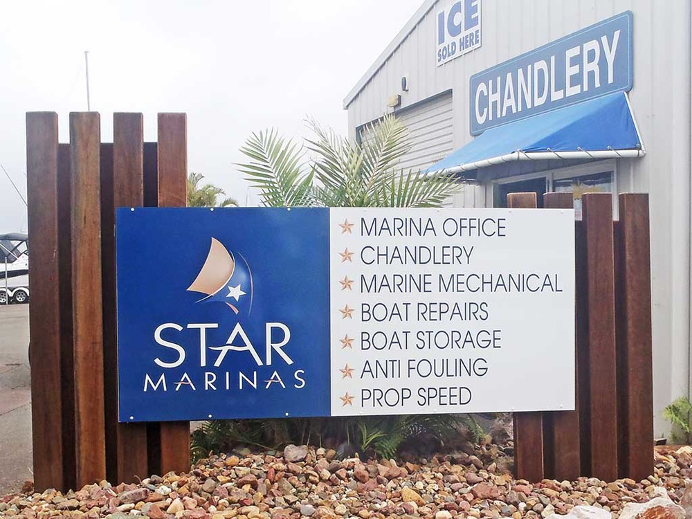 Marina Services Entrance