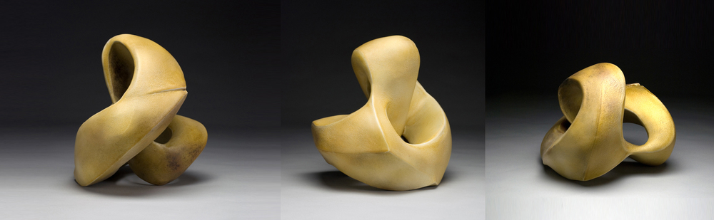 Recoil Series (amber glaze) 2012