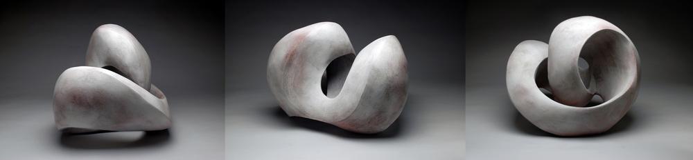 """""""Perpetual"""" Series (white glaze) 2014"""