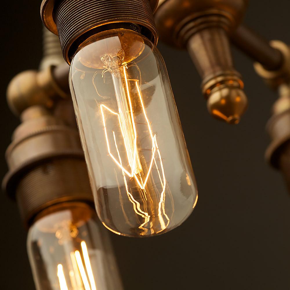 Multi Bulb Heavy Table Lamp