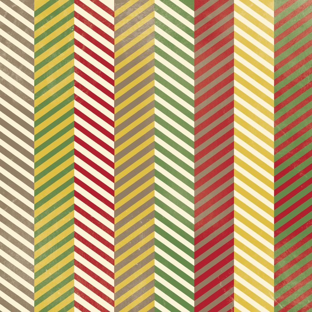 multi stripe chevron