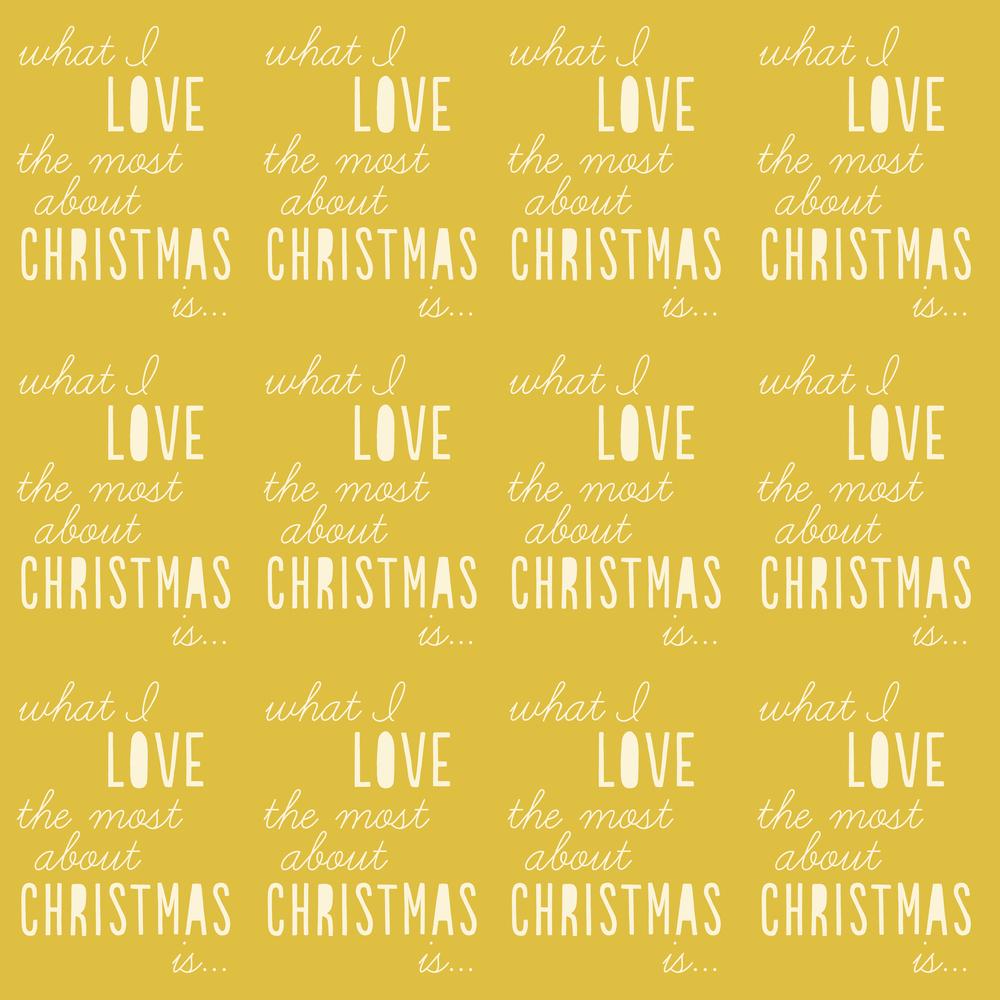 like christmas yellow