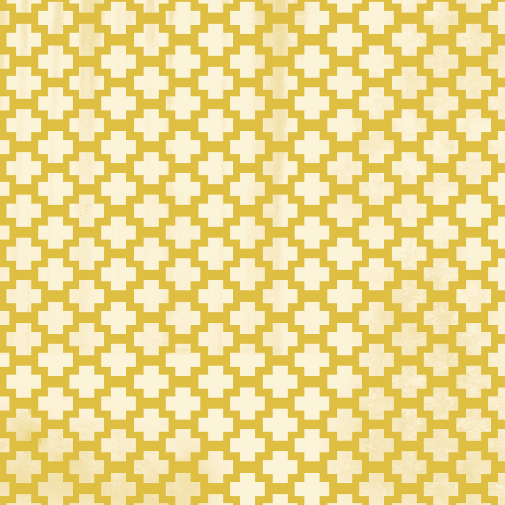 yellow filligree