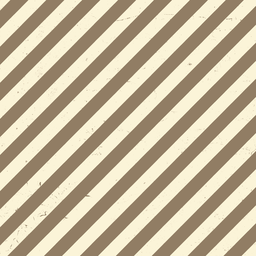 brown & white diagonal