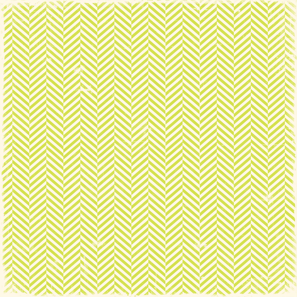 lime green herringbone