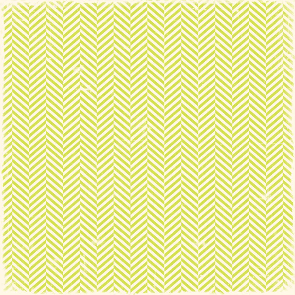 lime green herringbone