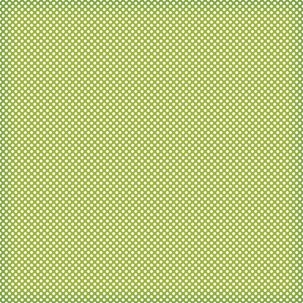 green mini polka
