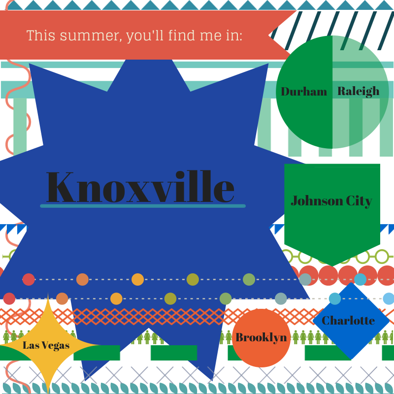 Summering in Knoxville announcement.