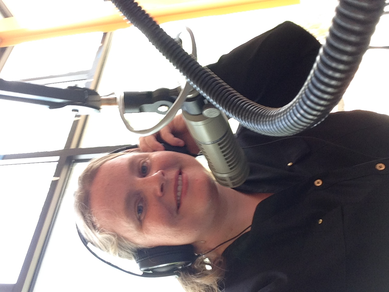 Virginia Ingram on WCOM in Carrboro.