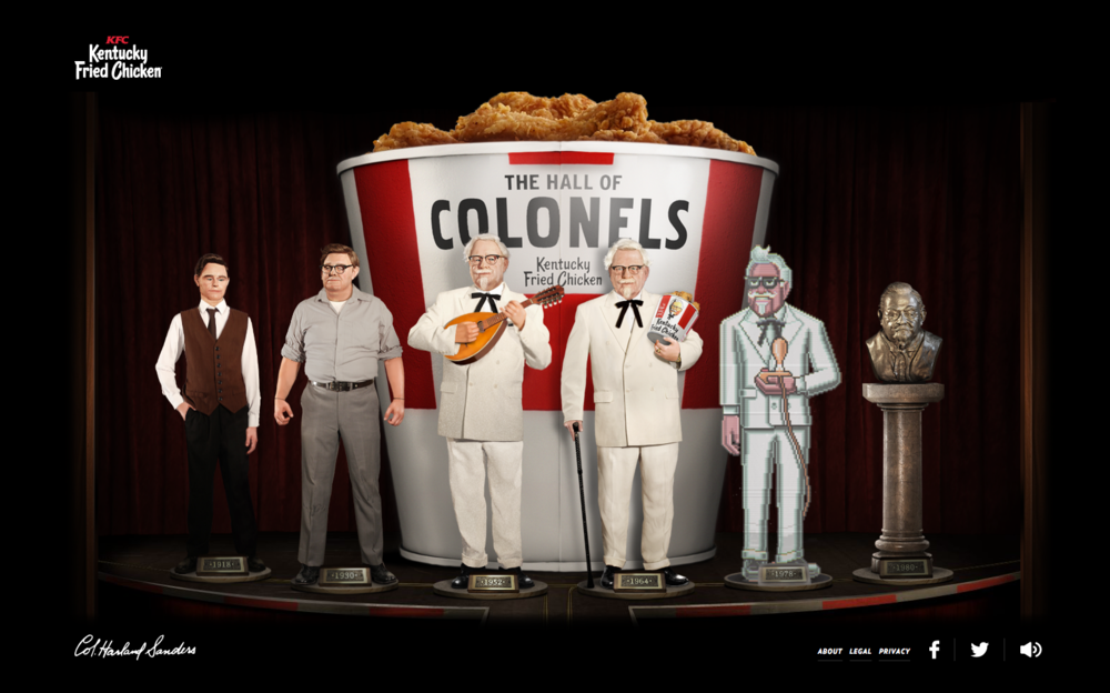 Hall of Colonels Campaign Website