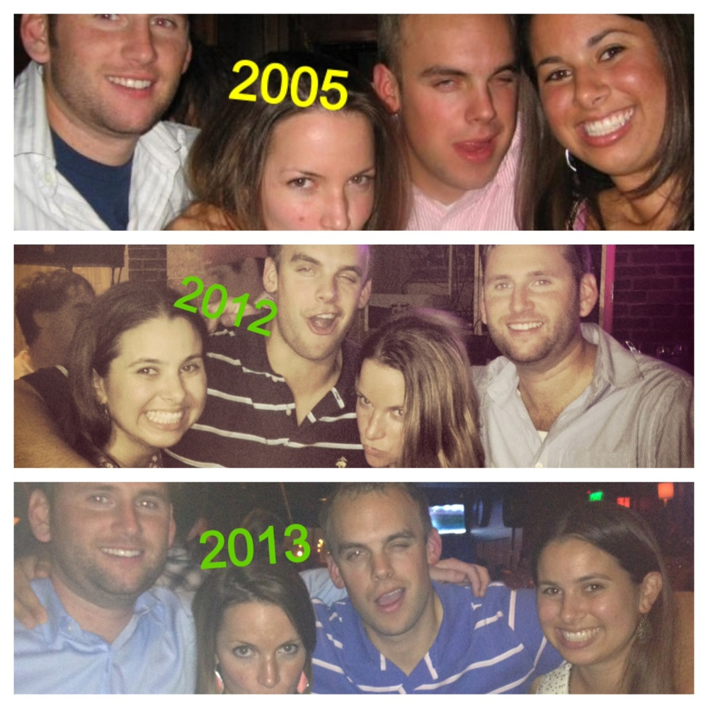 Friends through the years...