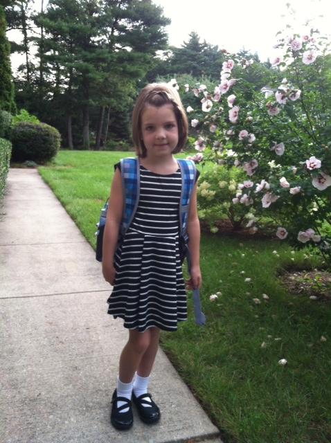 My niece, Ella.